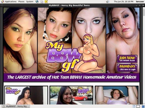 My BBW GF Porn Login