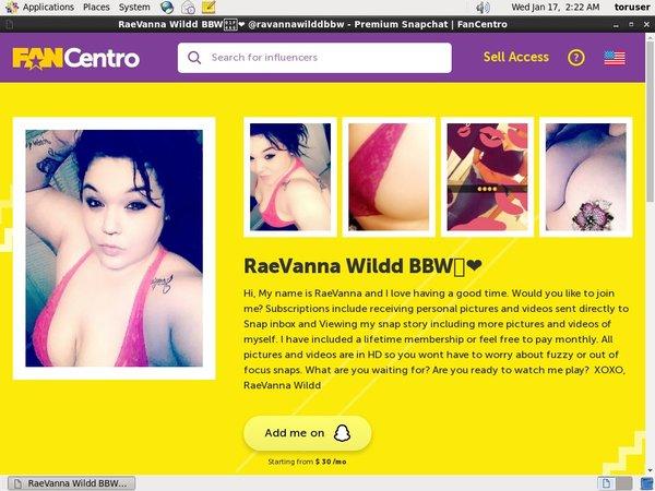 RaeVanna Wildd BBW Sites